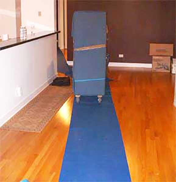 Hardwood Floors Without Damage